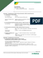 _msds_Ammonium hydroxide solution_ITA