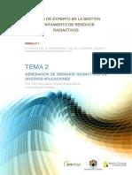 1.2 Generacion de residuos radiact ivos en diversas aplicaciones. - copia.pdf