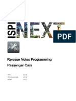 ISTA Programming Release Notes