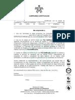 COMPROMISO CERTIFICACION