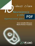 Copia de 10 ideas clave. Neurociencia y educación. Aportaciones para el aula