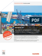 French Brochure - Radwin JET PtMP FOR PRIVATE NETWORKS