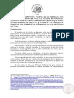 Proyecto Voto Detenidos Estallido