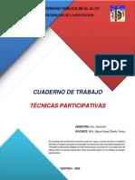 Cuaderno de Trabajo Técnicas Participativas Miguel Zilvetty