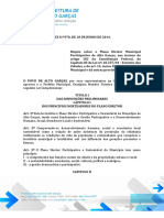LEI 970-2014 - PLANO DIRETOR DE ALTO GARÇAS