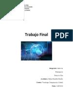 Trabajo Final TICS JIAHUI LAI - HAOPENG LIN - FRANCISCO OLEA