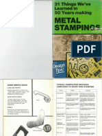 Metal Stamping design tips