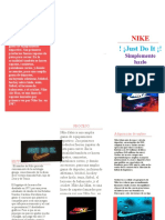 folleto empresarial