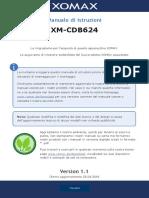 XM-CDB624-Manuale-di-istruzioni-italiano