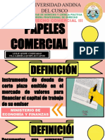 PAPELES COMERCIALES OF