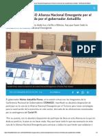 18-07-2020 Fortalece CONAGO Alianza Nacional Emergente por el Turismo convocada por el gobernador Astudillo.