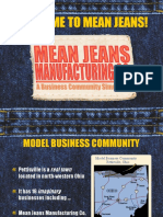 Welcome to Mean Jeans