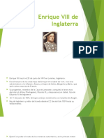 Enrique VIII de Inglaterra en powerpoint