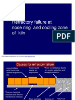 Nose ring & retaining ring - cooling & refractory design