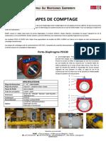 Fiche Produit - Comptage de gaz-  Français