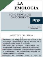 ORIGEN DE LA EPISEMOLOGIA