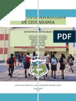 PROYECTO DE CONSTRUCCION CIUDADANA 2019