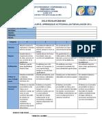 RUBRICA PARA LA EVALUACION DE APRENDIZAJE ACTITUDINAL IPE 2020-2021
