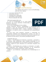 Presentación del curso Psicofisiología