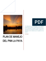 1. DIAGNOSTICO - Plan de Manejo PNN La Paya 2014 - 2018.docx