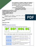 carlos ortiz- Guia del 1 al 5 de junio - guia 6 - Matematicas