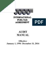 Audit Manual -1996 - 2016