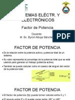 Sist. Elec. y Elect. 01-02 Factor de potencia
