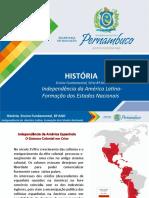 Independência da América Latina – Formação dos Estados Nacionais (1)