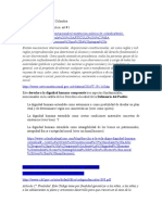Derecho a la dignidad en Colombia