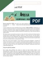 Teoria musical em PDF _ Apostila PDF _ Teoria Musical