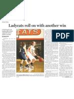 Ladycats vs. Stephenville