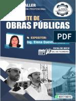 BROCHURE - CURSO TALLER RESIDENTE DE OBRAS PÚBLICAS