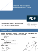 02 - Problema Fondamentale Meccanica Celeste