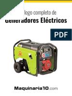 MAQUINARIA_Catálogo de Generadores Eléctricos.pdf