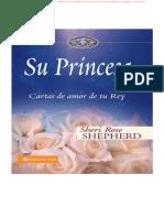 Su Princesa Cartas de Amor de Tu Rey - Sheri Rose Shepherd