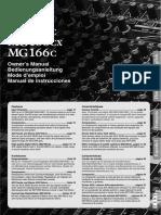 Yamaha MC166c Mixer german/deutsch