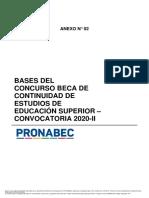 Bases Del Concurso - Beca Continuidad de Estudios Segunda Convocatoria