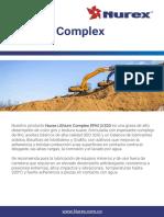TDS - Nurex Lithium Complex EPM 2-320