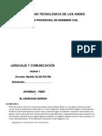Leng y Comu UTEA Unidad I Álviz.docx