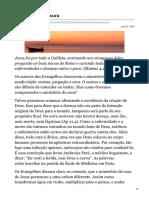 Revista Ultimato - www.ultimato.com.br - O ministério de cura