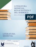 LITERATURA ANTIGUA, RENACENTISTA Y DEL BARROCO
