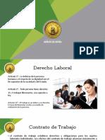 DERECHO LABORAL CLASE 3 SUJETOS Y ELEMENTOS