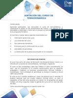 Presentación del curso Termodinámica (1)
