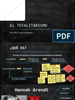 EL TOTALITARISMO