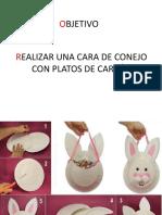 conejo de carton