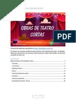 Obras de Teatro Cortas (Ejemplos Gratis)