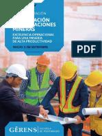 Folleto GESTIÓN DE OPERACIONES MINERAS 2019