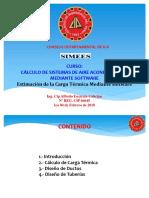 2. SIMEES CALCULO DE SISTEMAS DE AIRE ACONDICONADO MEDIANTE SOFTWARE.pdf