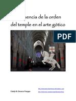 La influencia de la orden del temple en el arte gótico