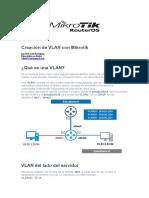 Creación de VLAN Con Mikrotik